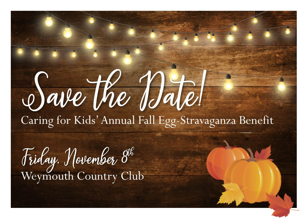 Save the Date - Annual Fall Egg Stravaganza Benefit 2019