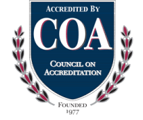 COA Council of Accreditation Badge